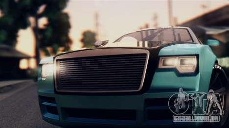 GTA 5 Enus Windsor para GTA San Andreas traseira esquerda vista