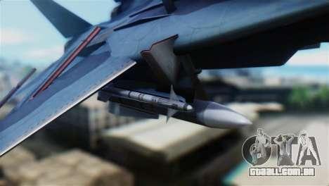 F-14J Super Tomcat JASDF para GTA San Andreas vista direita