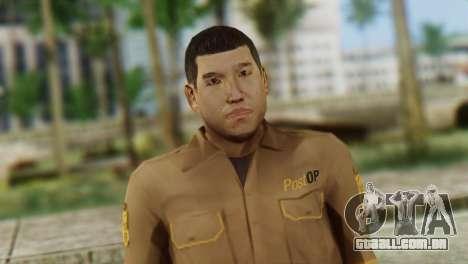 Post OP Skin from GTA 5 para GTA San Andreas terceira tela