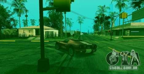 Habilidade especial de Franklin indicador para GTA San Andreas terceira tela