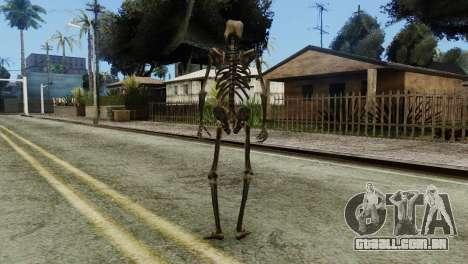 Skeleton Skin v2 para GTA San Andreas terceira tela