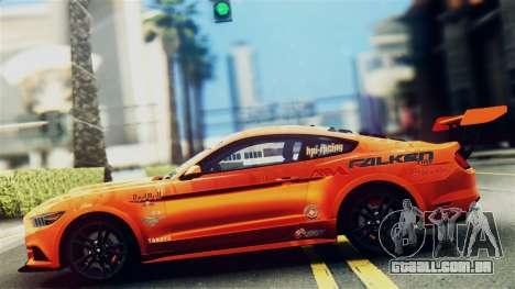 Ford Mustang GT 2015 Stock Tunable v1.0 para GTA San Andreas
