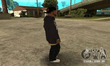 Groove Skin para GTA San Andreas por diante tela