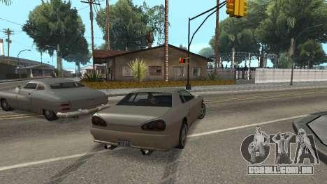 Melhoria física de condução para GTA San Andreas