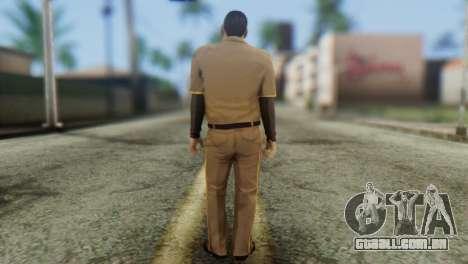Post OP Skin from GTA 5 para GTA San Andreas segunda tela