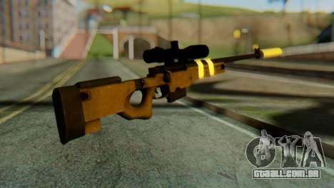 L96 Bandage Silencer para GTA San Andreas segunda tela