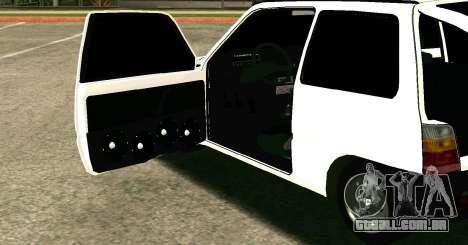 VAZ 1111 Oka para GTA San Andreas vista direita