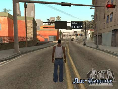 Back Flip para GTA San Andreas por diante tela