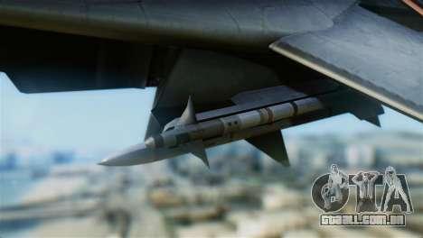 F-14A Tomcat VF-111 Sundowners Low Visibility para GTA San Andreas vista direita