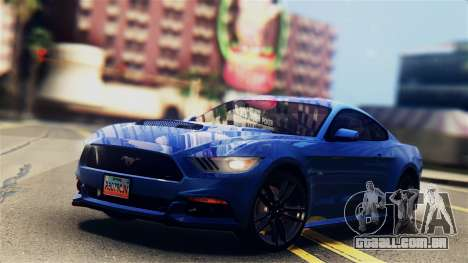 Ford Mustang GT 2015 Stock Tunable v1.0 para GTA San Andreas