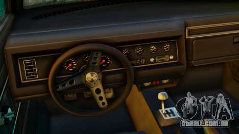 GTA 5 Vapid Dominator Pisswasser SA Lights para GTA San Andreas vista direita