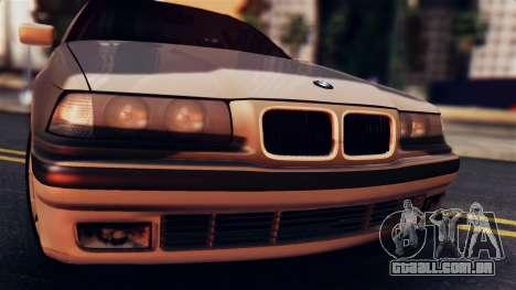 BMW 316i Touring para GTA San Andreas traseira esquerda vista