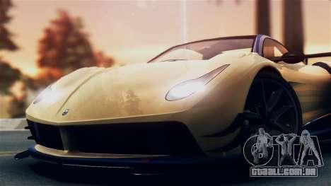 Pegassi Osiris from GTA 5 IVF para GTA San Andreas traseira esquerda vista