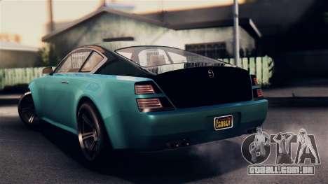 GTA 5 Enus Windsor para GTA San Andreas esquerda vista