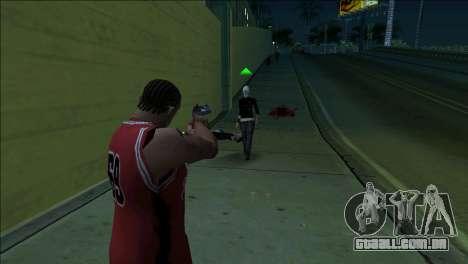 GTA 5 Kill Flash Effect para GTA San Andreas terceira tela