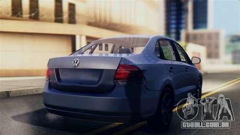 Volkswagen Polo para GTA San Andreas esquerda vista