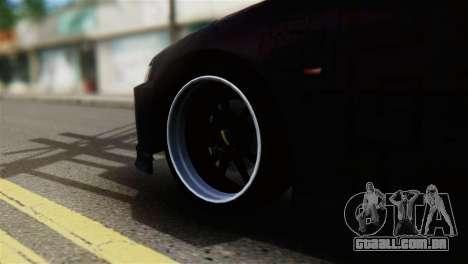 Honda Civic EG6 Kotomi Clannad Itasha para GTA San Andreas traseira esquerda vista