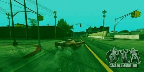 Habilidade especial de Franklin indicador para GTA San Andreas segunda tela