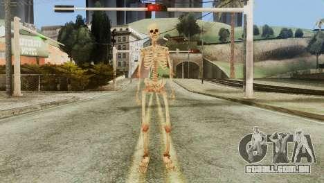 Skeleton Skin v1 para GTA San Andreas segunda tela
