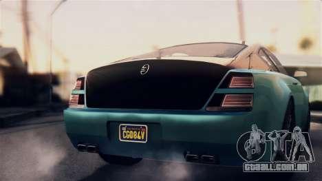 GTA 5 Enus Windsor para GTA San Andreas vista direita