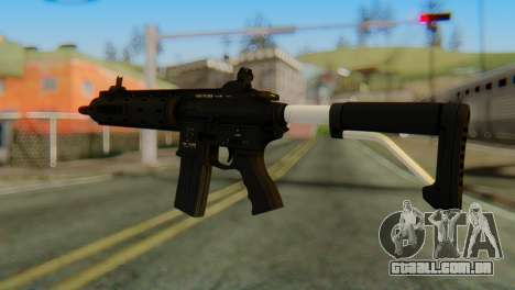Carbine Rifle from GTA 5 v1 para GTA San Andreas segunda tela