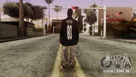 New Ballas Skin para GTA San Andreas terceira tela
