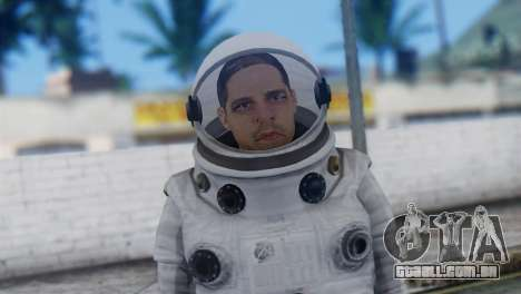 Astronaut Skin from GTA 5 para GTA San Andreas terceira tela