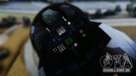 F-14A Tomcat VF-111 Sundowners Low Visibility para GTA San Andreas vista traseira
