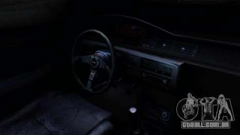 Honda Civic EG6 Kotomi Clannad Itasha para GTA San Andreas vista direita