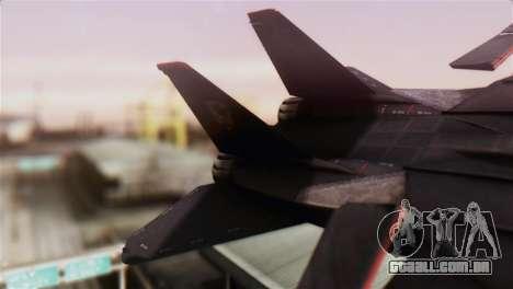 Grumman F-14D Super Tomcat para GTA San Andreas traseira esquerda vista