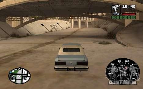 Velocímetro de VAZ 2105 para GTA San Andreas terceira tela