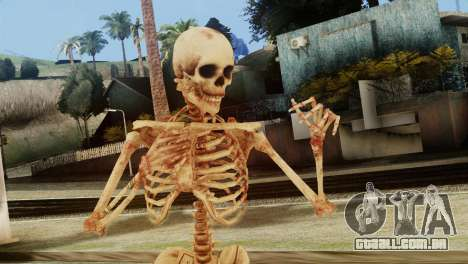 Skeleton Skin v1 para GTA San Andreas