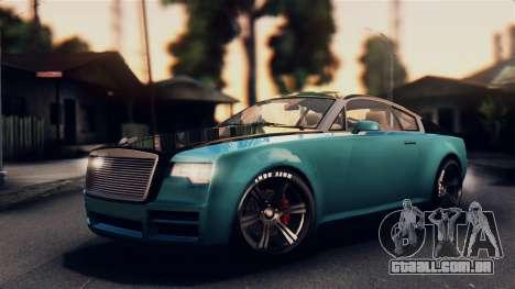 GTA 5 Enus Windsor para GTA San Andreas