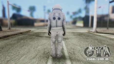 Astronaut Skin from GTA 5 para GTA San Andreas segunda tela