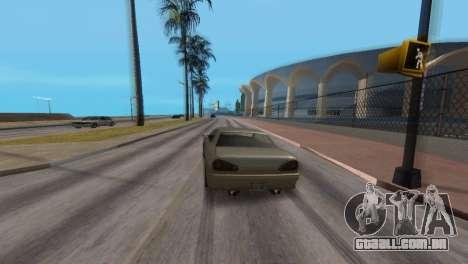 Melhoria física de condução para GTA San Andreas quinto tela