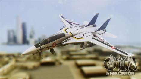 F-14D Tomcat Macross Yellow & Black para GTA San Andreas