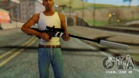L96 Bandage Silencer para GTA San Andreas terceira tela