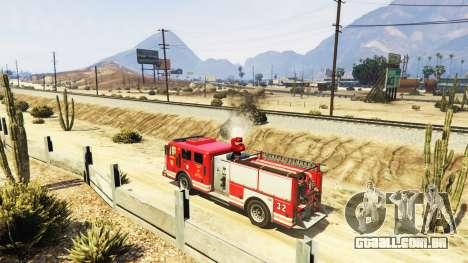 GTA 5 A missão do fogo v2.0 terceiro screenshot