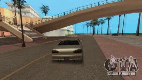 Melhoria física de condução para GTA San Andreas por diante tela