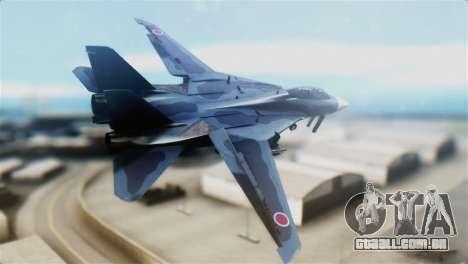 F-14J Super Tomcat JASDF para GTA San Andreas esquerda vista
