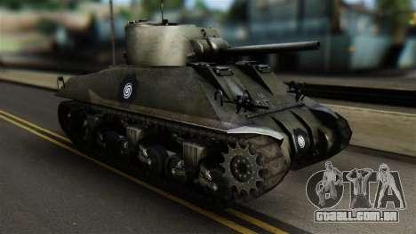 M4 Sherman Gawai Special 2 para GTA San Andreas