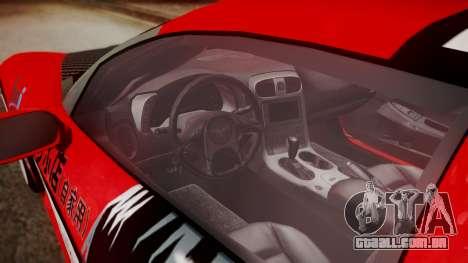 Chevrolet Corvette Z51 Another Itasha para GTA San Andreas vista direita