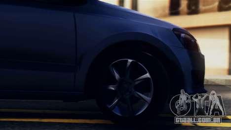 Volkswagen Polo para GTA San Andreas vista traseira