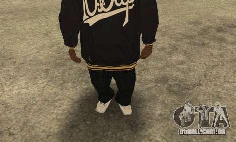 Groove Skin para GTA San Andreas segunda tela