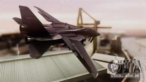 Grumman F-14D Super Tomcat para GTA San Andreas esquerda vista