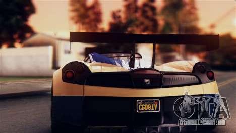 Pegassi Osiris from GTA 5 IVF para GTA San Andreas vista interior