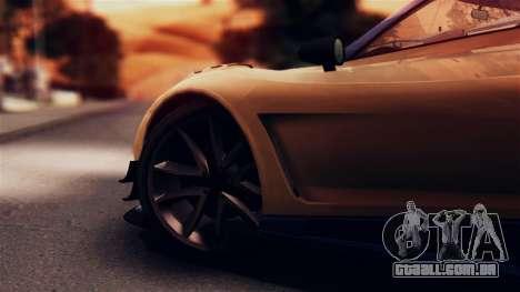 Pegassi Osiris from GTA 5 IVF para GTA San Andreas vista traseira