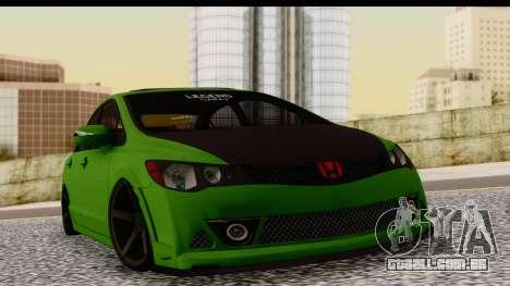 Honda Civic FD6 para GTA San Andreas