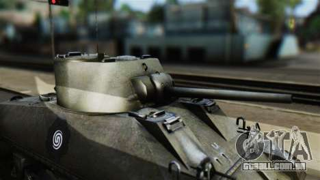 M4 Sherman Gawai Special 2 para GTA San Andreas vista direita