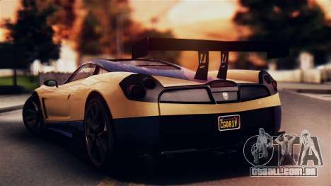 Pegassi Osiris from GTA 5 IVF para GTA San Andreas esquerda vista